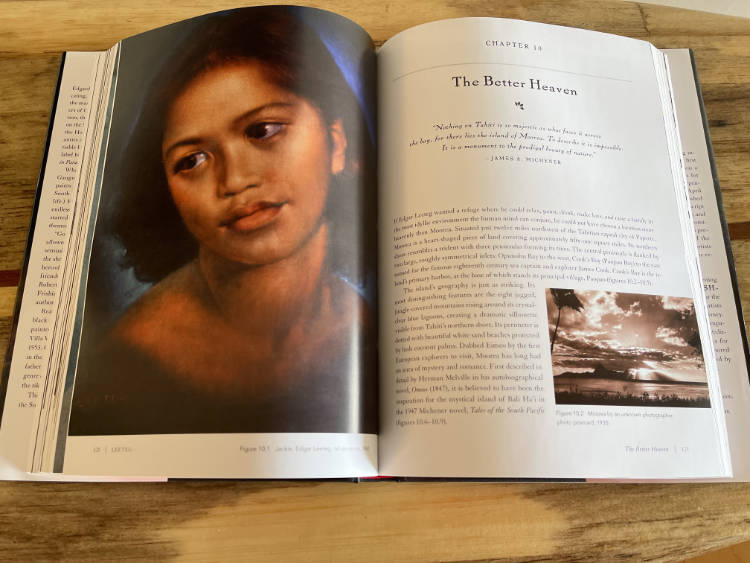 image of open book with chapter displayed from Leeteg by CJ Cook