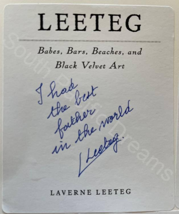 Leeteg Collectors' Edition - signed by Laverne Leeteg