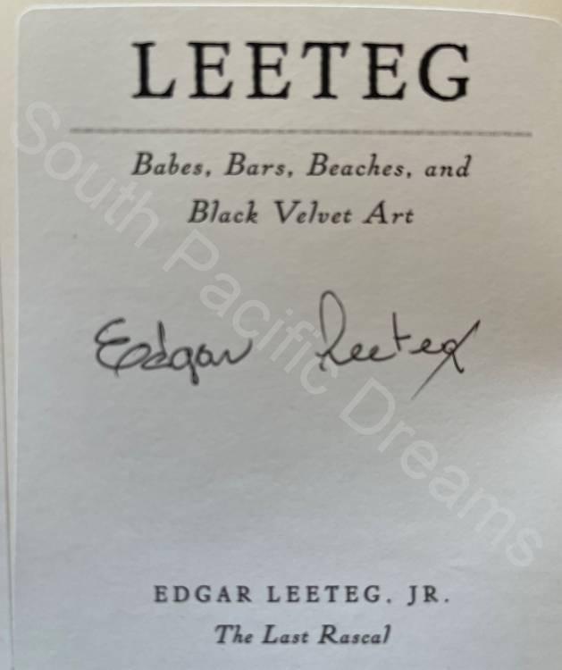 Leeteg Collectors' Edition - signed by Edgar Leeteg, Jr.