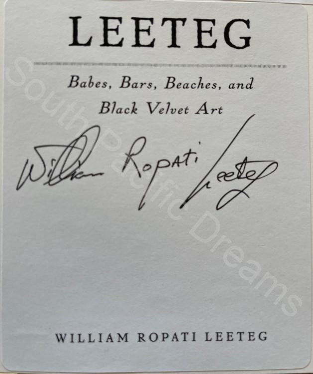 Leeteg Collectors' Edition - signed by William Ropati Leeteg