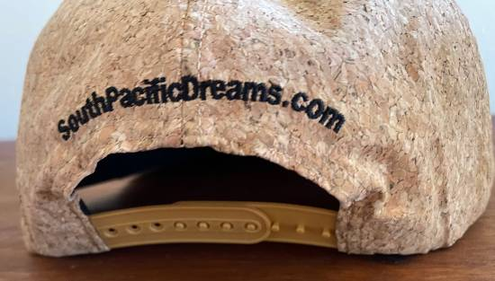 South Pacific Dreams Tiki cork cap back view